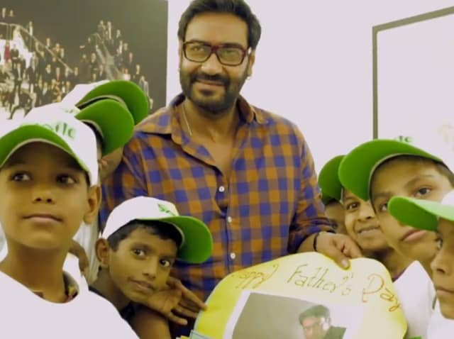 Ajay Devgn,Fathers Day,Ajay Devgn Movies