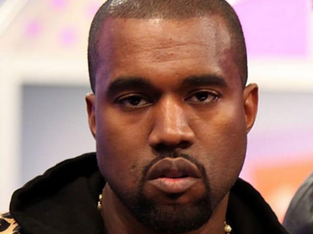 Kanye's resting b!tc# face.