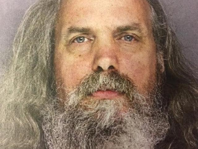 This photo provided by the Lower Southampton Police Department shows Lee Kaplan. Officials acting on a tip Thursday, June 16, 2016, found the 51-year-old Kaplan at his Feasterville, Pa., home, along with 12 girls ranging in age from six months to 18 years.