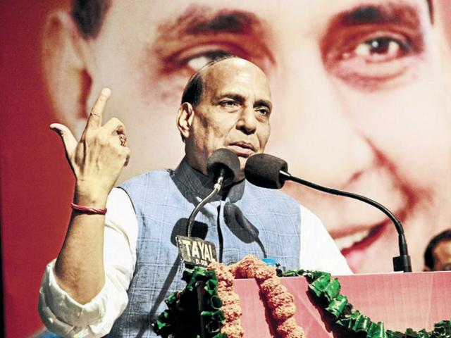 Rajnath Singh said the BJP parliamentary board will take a final decision on whether to project someone as chief ministerial candidate for the assembly elections in Uttar Pradesh.
