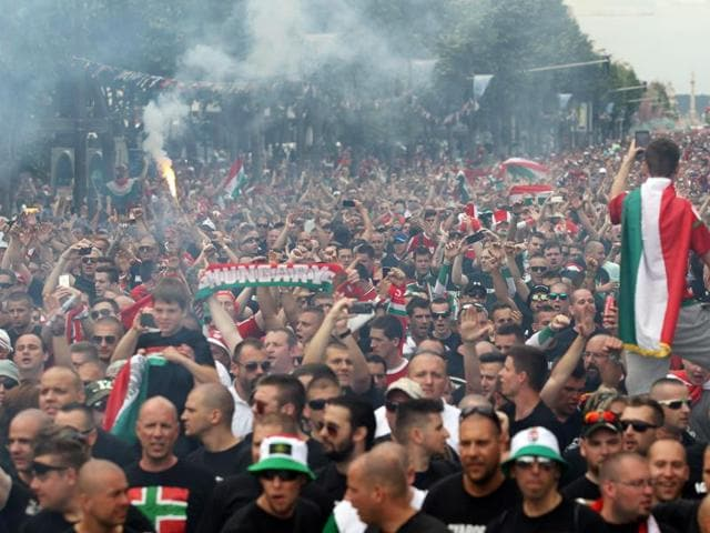 Uefa,Disciplinary probes,Hungary fans