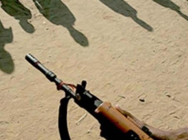 Security forces gunned down three suspected Maoists in an encounter in Gadchiroli district near Maharashtra-Telangana border