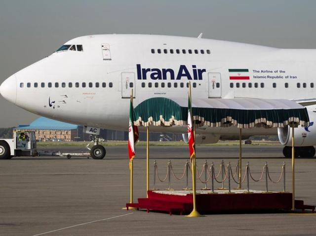 An IranAir Boeing 747SP aircraft is pictured before leaving Tehran's Mehrabad airport September 19, 2011.