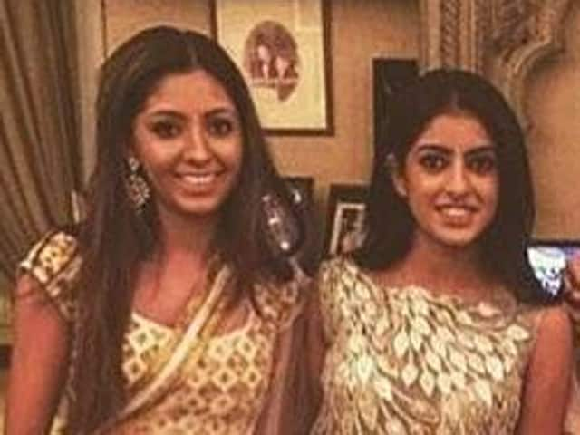 Navya Naveli goes trad with her gang of girls.