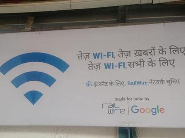 Wi-fi at railway stations