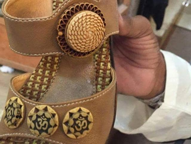 "Hindus in Pakistan's Sindh province are protesting the sale of shoes inscribed with sacred religious symbol 'Om' and described the actions of shopkeepers selling them as ""unfortunate"" and ""blasphemous""."