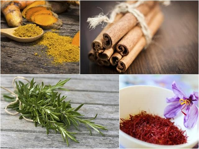 Saffron, cinnamon, turmeric, rosemary and thyme are some well-known natural anti-depressants you can turn to when not quite in the  mood.