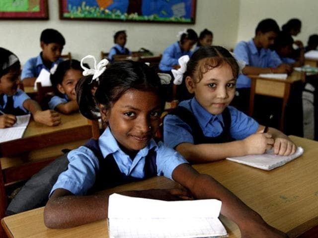 The RTE stipulates benchmarks such as a play ground, a minimum teacher-pupil ratio and number of classrooms for according recognition — and thereby government funds — to any private school.