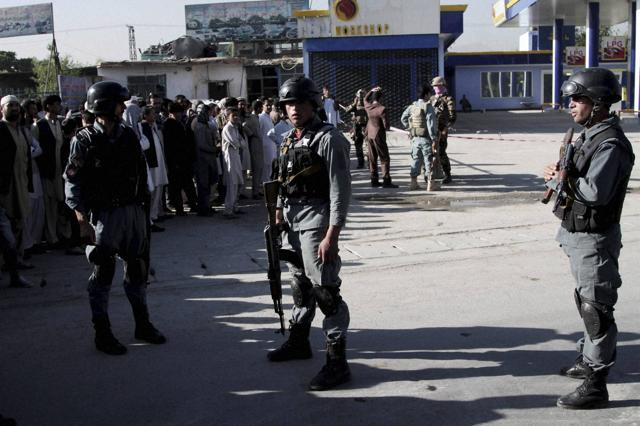 A day before the abductions, in another attack, at least a dozen Nepalese security guards of a foreign logistic company were killed Monday by a Taliban suicide bomber.