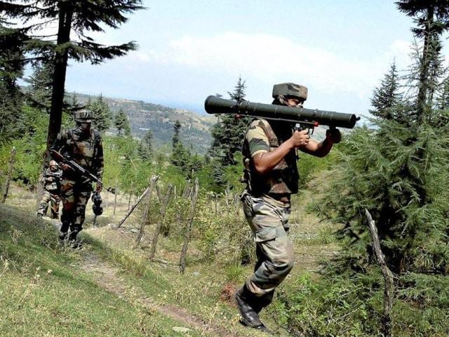 A gunfight between militants and security forces broke out late on Monday evening in Jammu and Kashmir's Kupwara district after a top commander of the Lashkar-e-Taiba (LeT) outfit was arrested there, police said.
