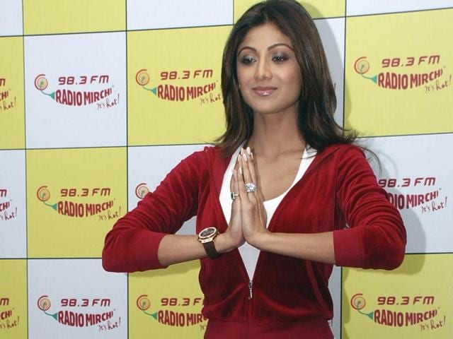 Actor Shilpa Shetty says she started doing yoga to cure spondylitis problem but took it up regularly.