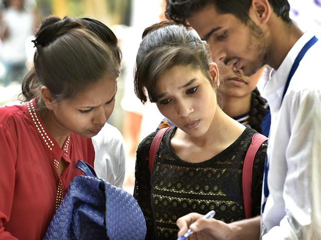 High cut off lists are a cause of tension for a lot  of Delhi University aspirants.
