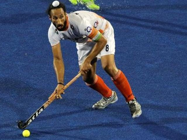 Skipper Sardar Singh was rested for the Champions Trophy, where India finished runners-up behind Australia.