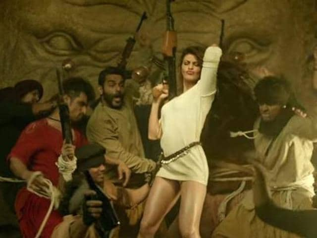 Jacqueline Fernandez in the song from Dishoom.