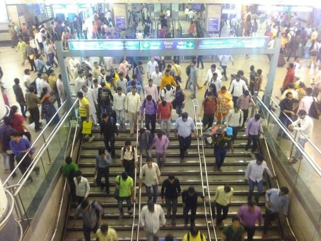 For safety reasons during an event at Rajiv Chowk, the Rajiv Chowk Metro station will be closed till 8.30am on Tuesday.