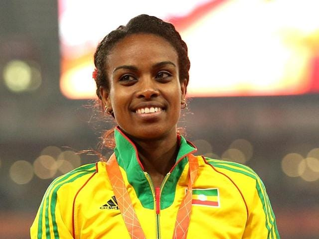 Ethiopia's Genzebe Dibaba hold the current record in 1500 metres.