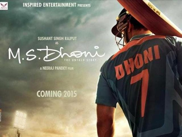 Sushant Singh Rajput is playing MS Dhoni in the cricketer's biopic.  (Twitter)
