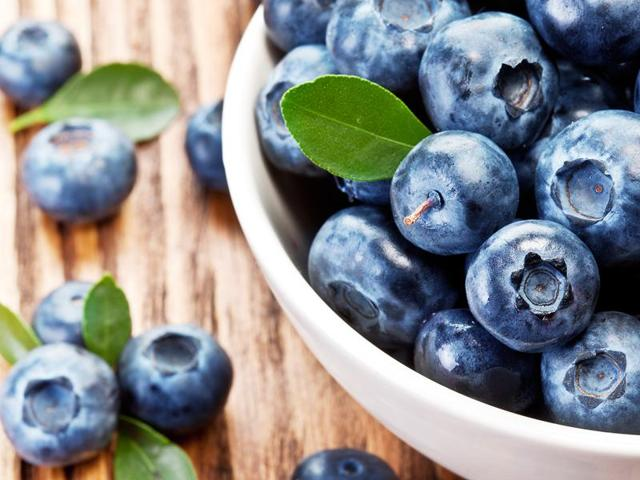 Blueberries are rich in healthy antioxidants, which could help prevent Alzheimer's.