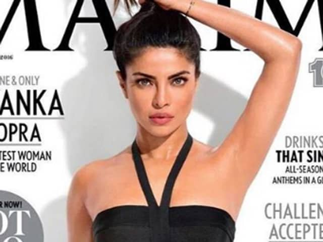 Priyanka Chopra is one of the hottest women in the world; even her armpits don't have the normal human flaws!