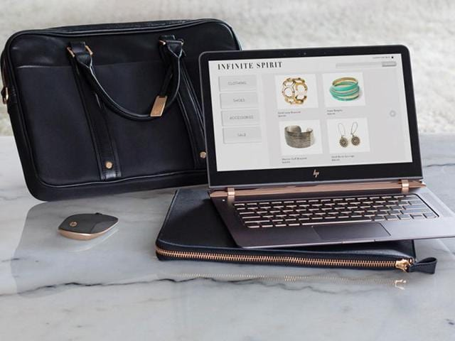According to HP, the 13-inch Spectre is 10.4mm thick, while Apple's iconic MacBook Air is 17mm thick, as is the Lenovo LaVie (which can claim to be the world's lightest 13-inch laptop).