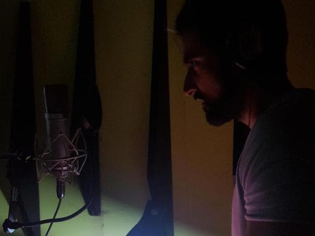 """""""Dubbing for Veeram. Really excited about this film. Can't wait for you guys to see it,"""" Kunal tweeted on Monday."""