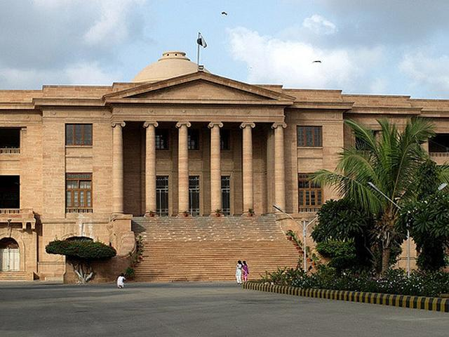 The son of the Chief Justice of Sindh High Court has been abducted by unidentified armed men  in Pakistan's largest city and economic hub and police have detained five persons in this connection.