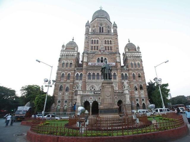 Bombay Municipal corporation headquarters in Mumbai.