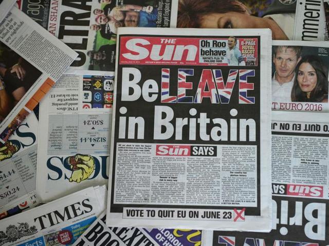 Brexit,British press,Pro-Remain
