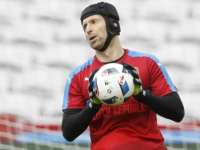 Petr Cech,Tomas Rosicky,Czech Republic vs Turkey