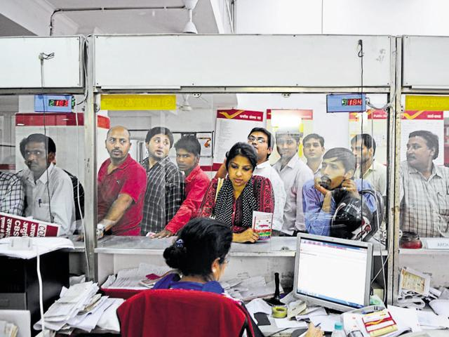 File photo of a post office in Gurgaon.  The Finance ministry has announced new rules for withdrawal of Public Provident Fund.