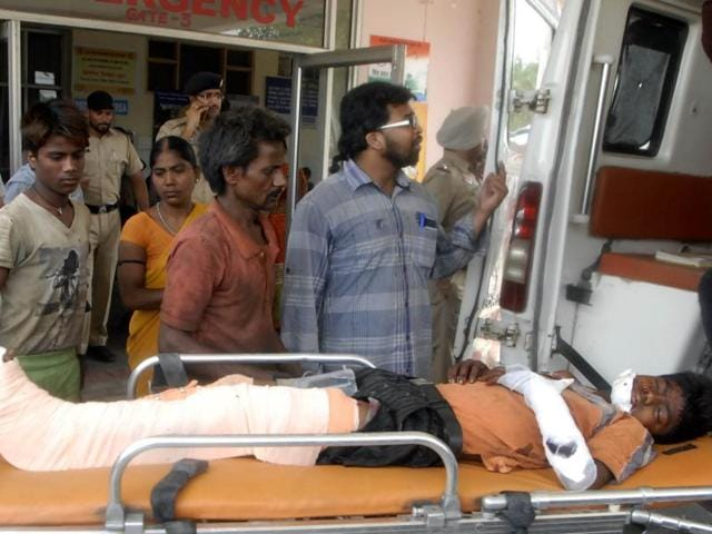 Ludhiana godown blast,godown blast,Two brothers injured