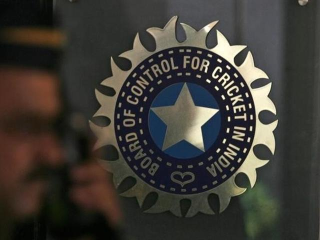 BCCI president Anurag Thakur during a news conference in Mumbai.