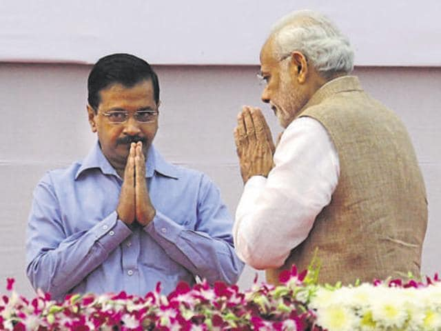 Delhi CM Arvind Kejriwal welcomed the FIRfiled against him and Sheila Dikshit over the alleged water tanker scam, taking a dig at Prime Minister Narendra Modi .