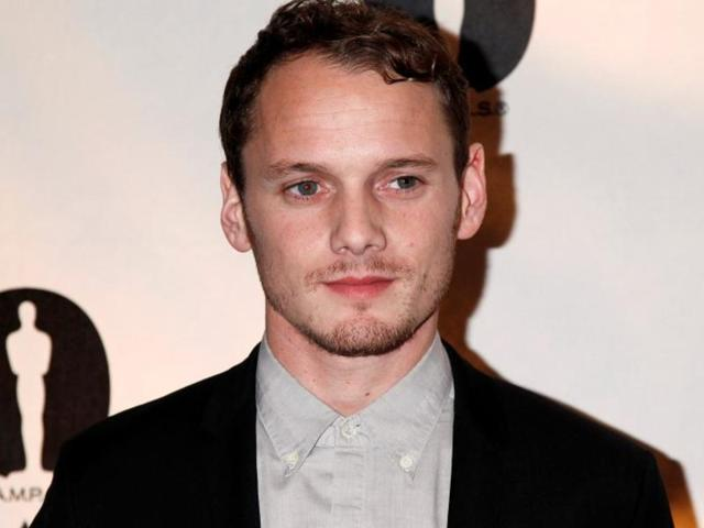 Anton Yelchin in a  file photo from November 2013 at the Academy of Motion Picture Arts & Sciences Nicholl Fellowships in Screenwriting awards in Beverly Hills .