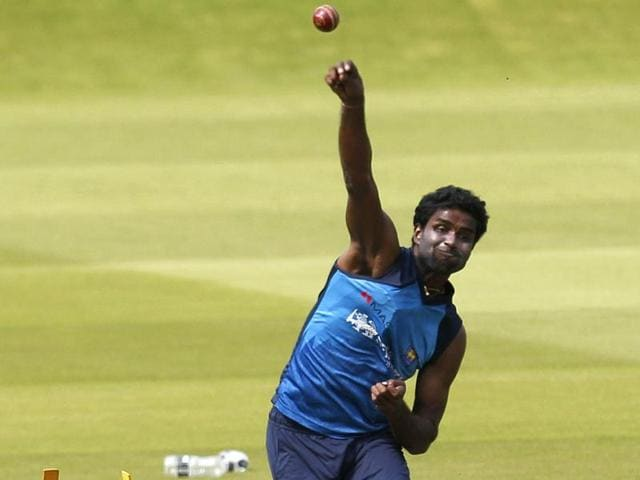 Sri Lankan bowler