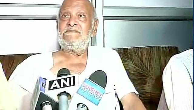 Kanubhai Gandhi is lodged in an old age home in South Delhi.
