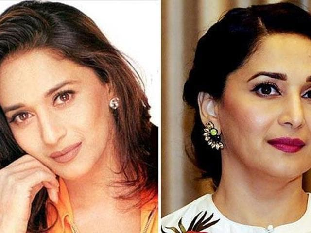 Madhuri Dixit hasn't aged even a bit over the years.