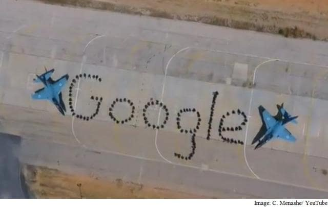 Google,Google formation,Israeli air force
