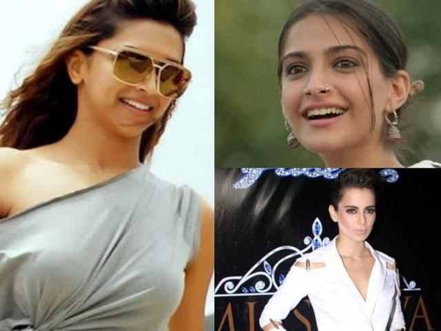From Sonam's ethnic look to Deepika's party animal avatar and Kangana's 'ambitious' get up, here's a low down.