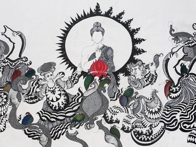 Nandan Purkayastha,Art Musings,Soma Das