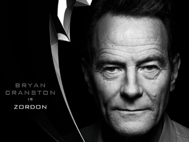 Given Bryan Cranston's history with Power Rangers, this move is right on so many levels.