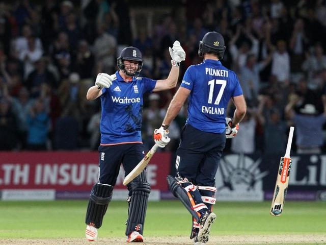 England vs Sri Lanka,Liam Plunkett,England tie vs Sri Lanka