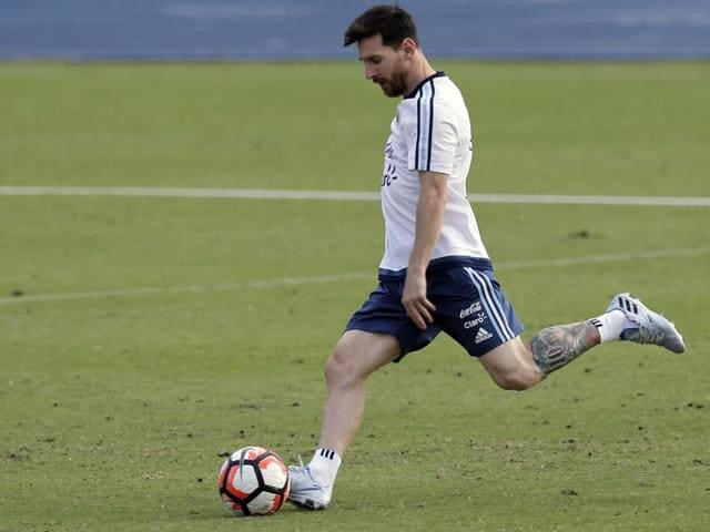 Messi did not start a match until the quarters but has four goals and trails only Chile's Eduardo Vargas (six) for the tournament's Golden Boot.