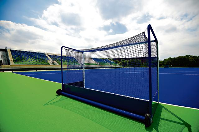 Polytan STI is the principal manufacturer of the blue turf being used at Rio and was the only company eligible to bid for the Bhopal turf.