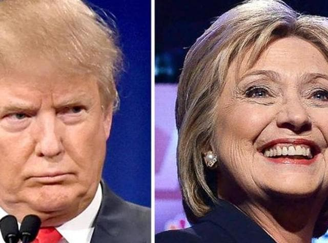Hillary Clinton,Donald Trump,US Presidential Elections