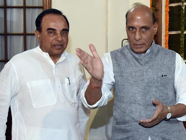 Subramanian Swamy,Arvind Subramanian,chief economic adviser