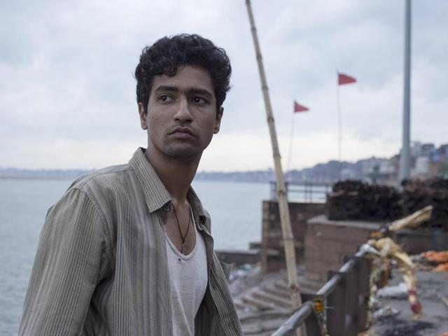 Vicky Kaushal in a still from Masaan (2015)