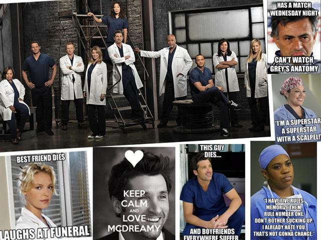 Grey's Anatomy premiered on American television in 2005 and has been on since then. It's currently in its 12th season.