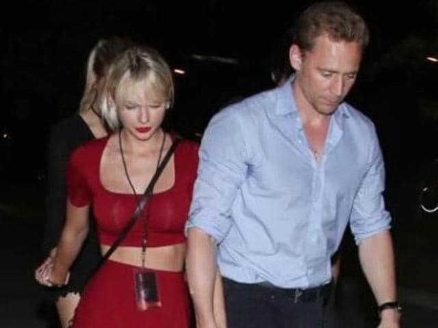 Taylor Swift was spotted with Tom again at Selena Gomez's concert, swinging to the music.