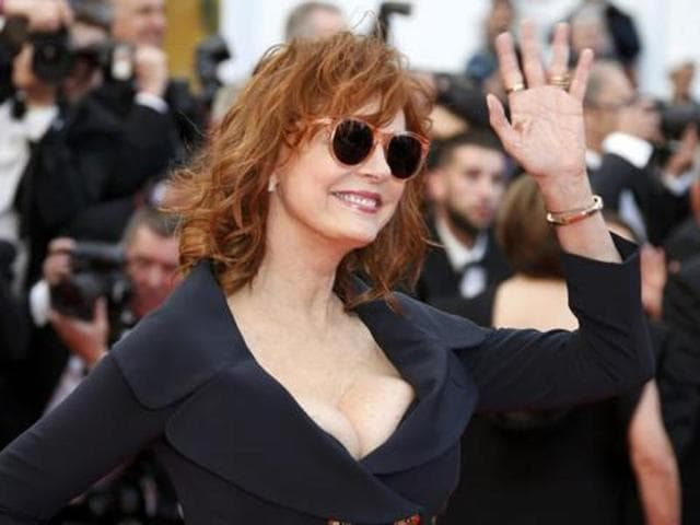 Susan Sarandon at the 2016 Cannes Film Festival.